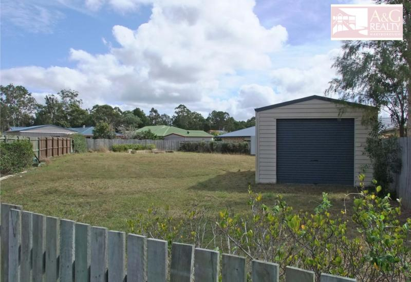Fenced Block With Shed - $115,000