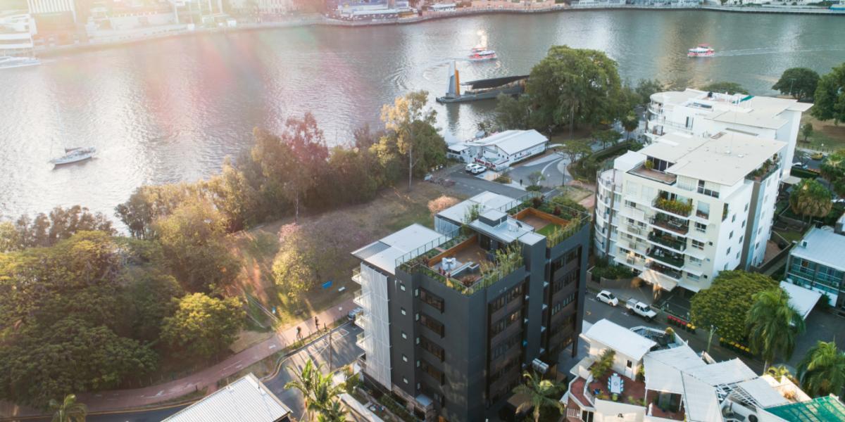Unique Riverfront Terrace