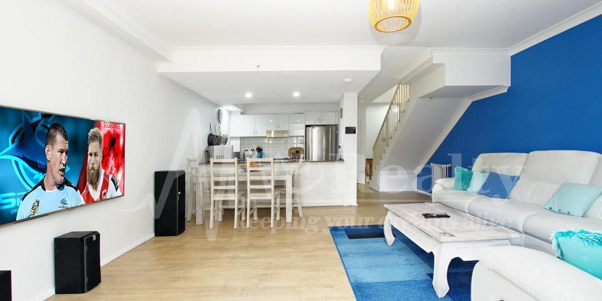 More like a 'posh' apartment....