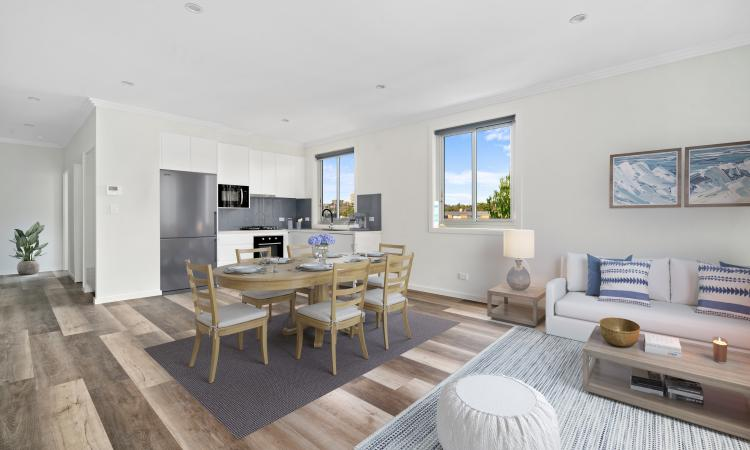 """BRAND NEW """"BRIDGEPOINT"""" APARTMENTS - QUIETLY POSITIONED IN THE COMPLEX"""