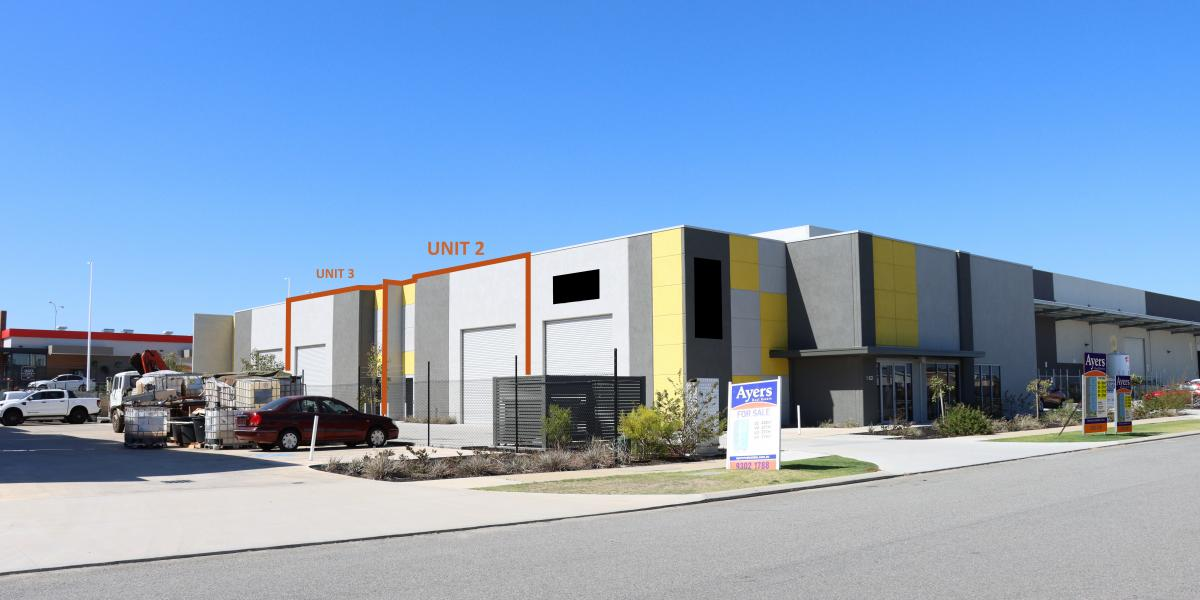 4 X BRAND NEW INDUSTRIAL WAREHOUSES! 1 SOLD