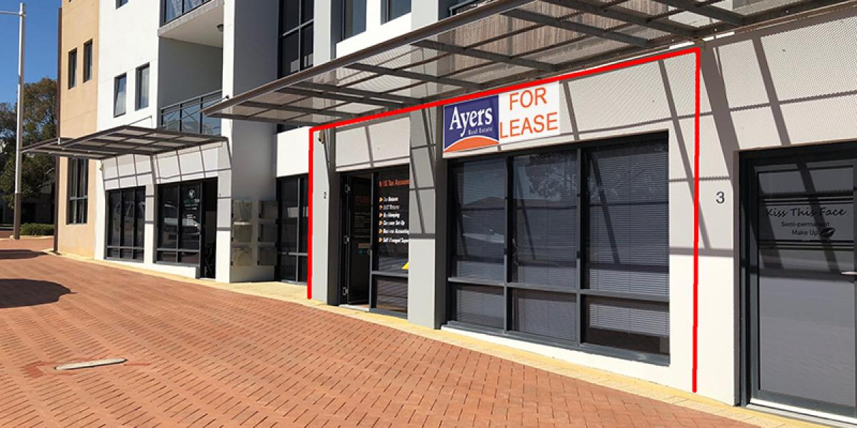 29sqm STREET FRONT | COMMERCIAL RETAIL | PLUS 1 CAR BAY INCLUDED