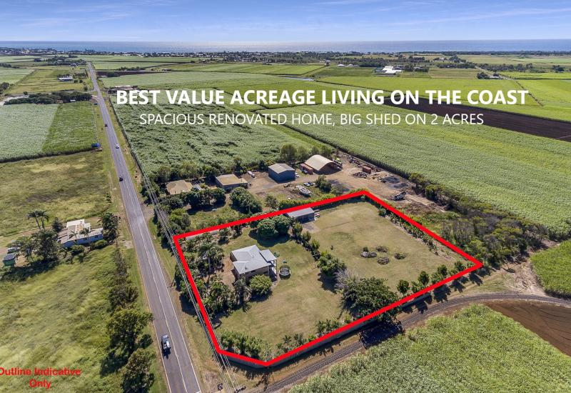 BEST VALUE ACREAGE LIVING ON THE COAST