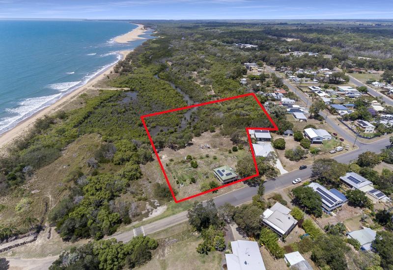 Almost 6 Acres Beachfront!