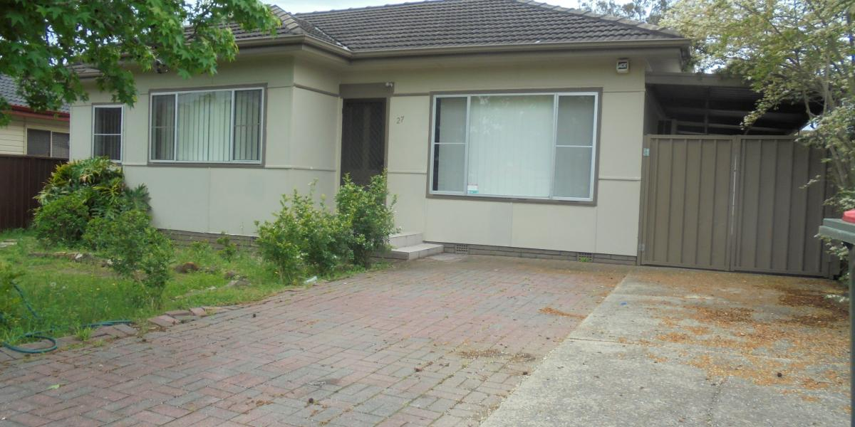 Recently Renovated Three Bedroom House.