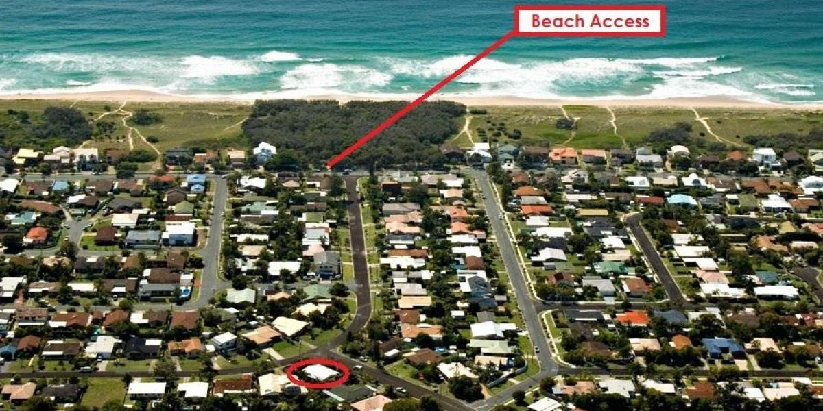 Great beach side location - Purchase at land value
