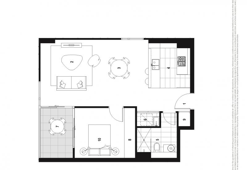 Spacious One Bedroom - Access via 7 Verona Dr