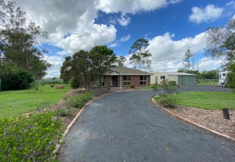 OVER THREE ACRES, FULLY SET-UP FOR HORSES