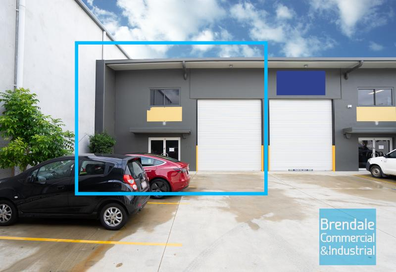 100m2 INDUSTRIAL UNIT WITH OFFICE