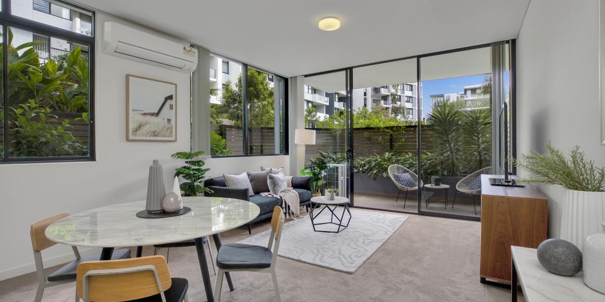 Spacious Park-Side Living, Boasting A HostOf Amenities