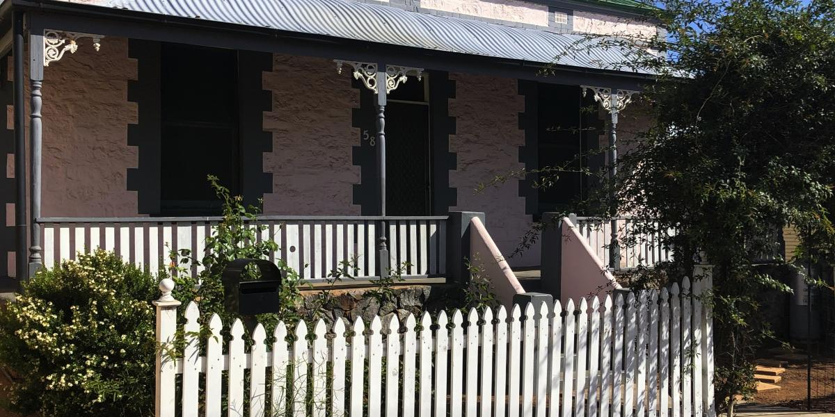 Tastefully renovated stone home