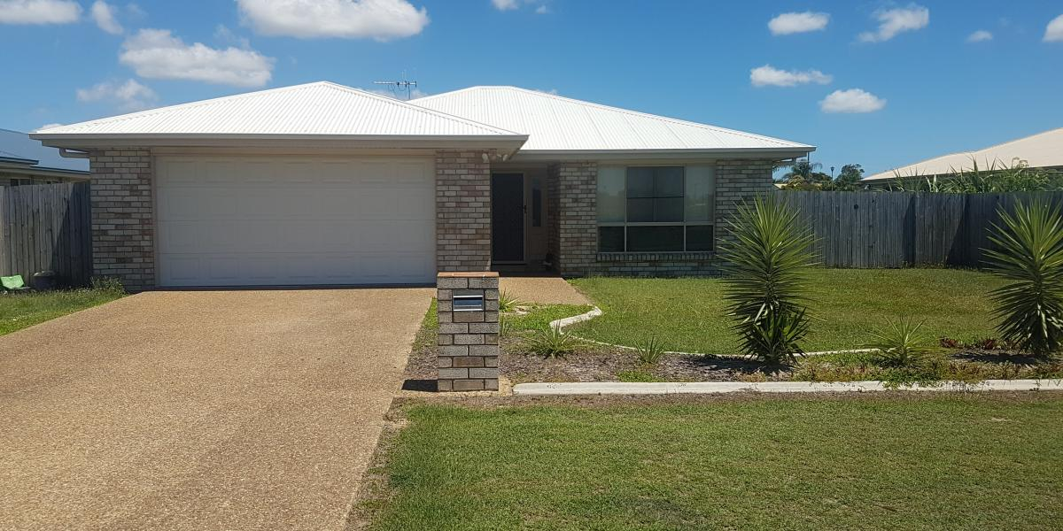 4 Bedroom home with 2 Bathrooms, Walk in robe and DLUG