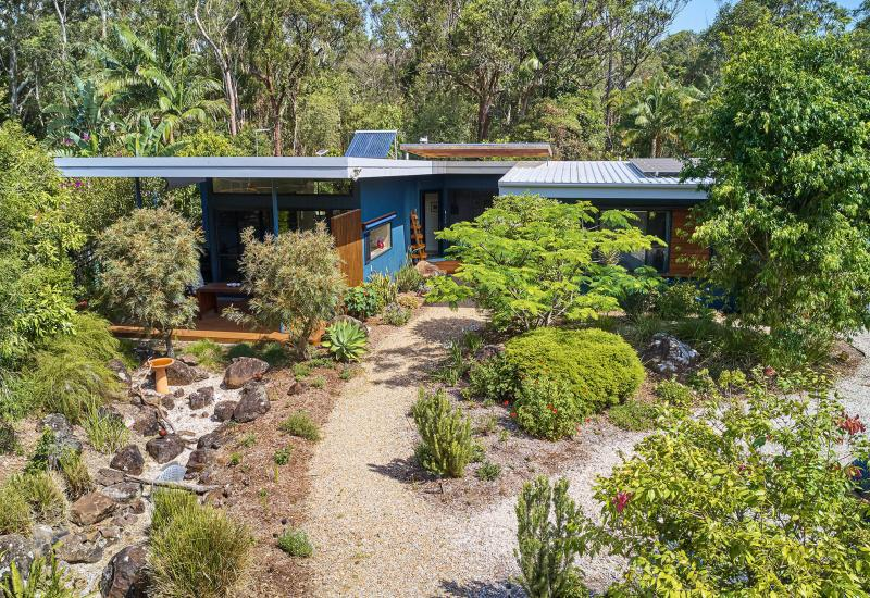 The most stunning house and garden in Brunswick Heads