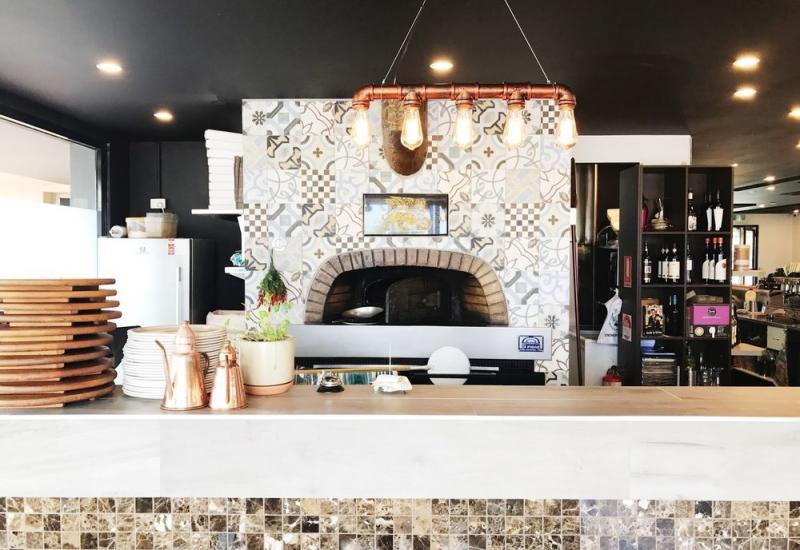 Incredible Waterfront Woodfire Kitchen For Sale