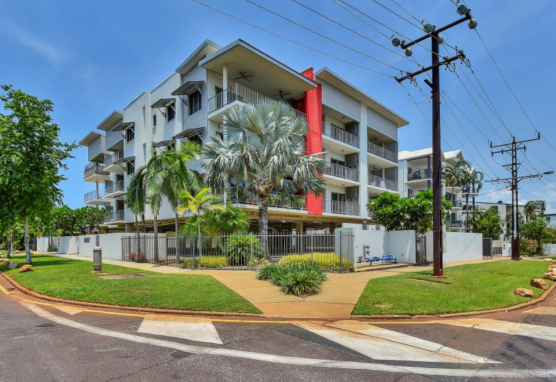 Two Bedroom unit with the works! Water, City views with a pool!