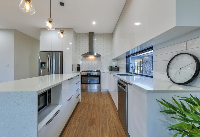 Sleek, modern and well designed 4 x bedroom abode