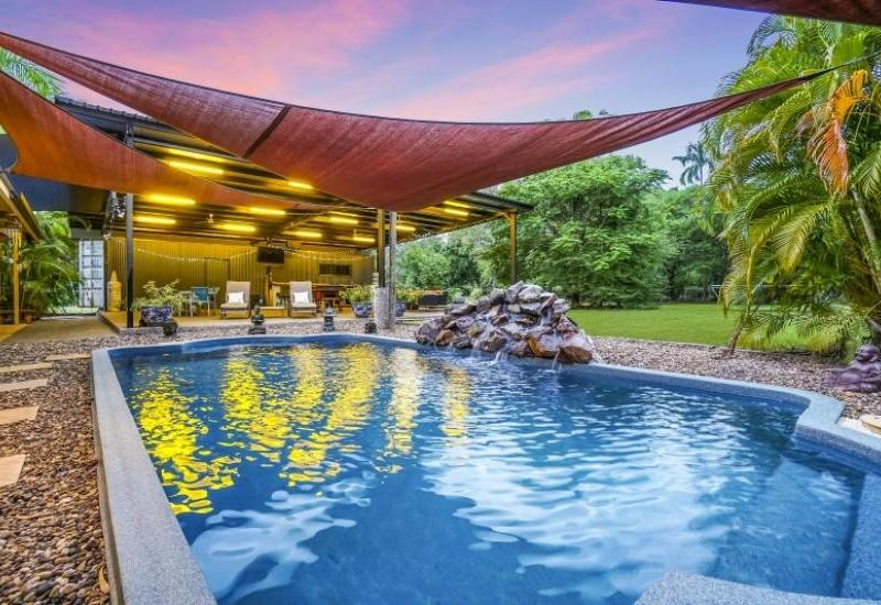 TRIPPE RD NORTH -- Tranquil acreage will impress with stylish modern living