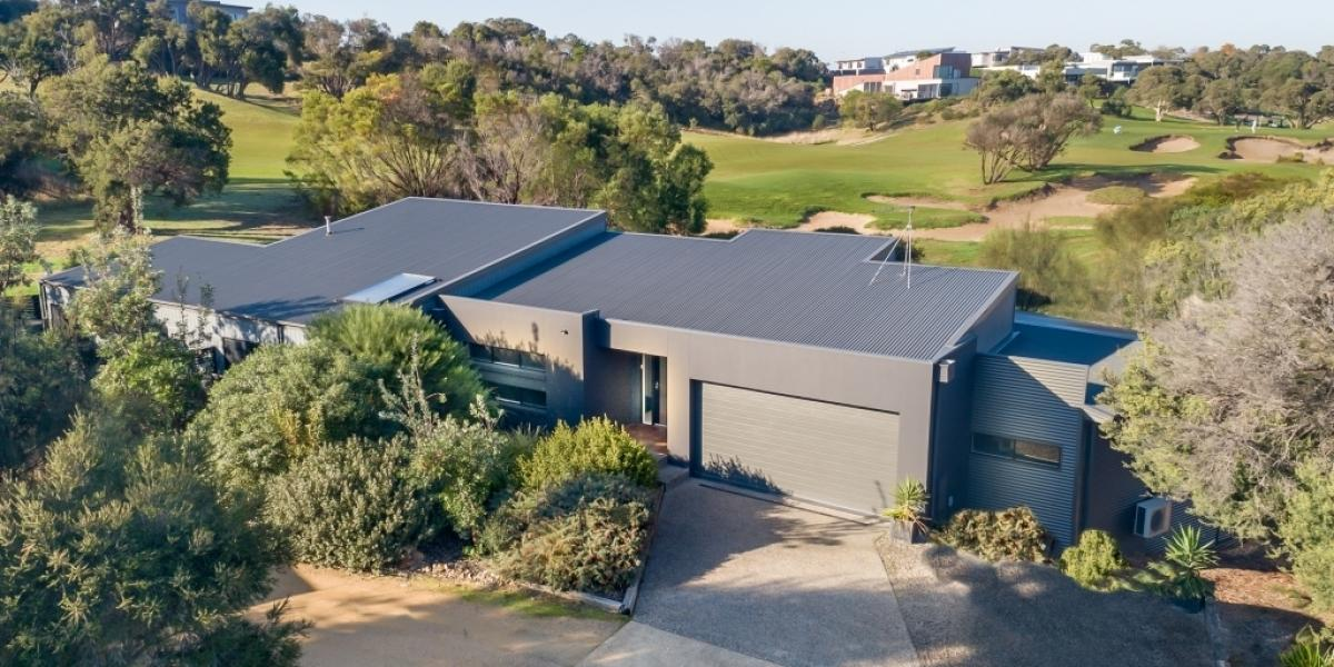 Low set, uninterrupted golf course views and with so many extras included