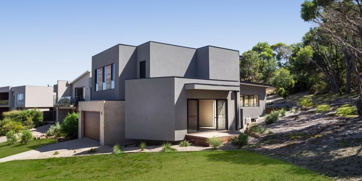 Near-new, architect-designed home taking full advantage of the surrounding natural environment