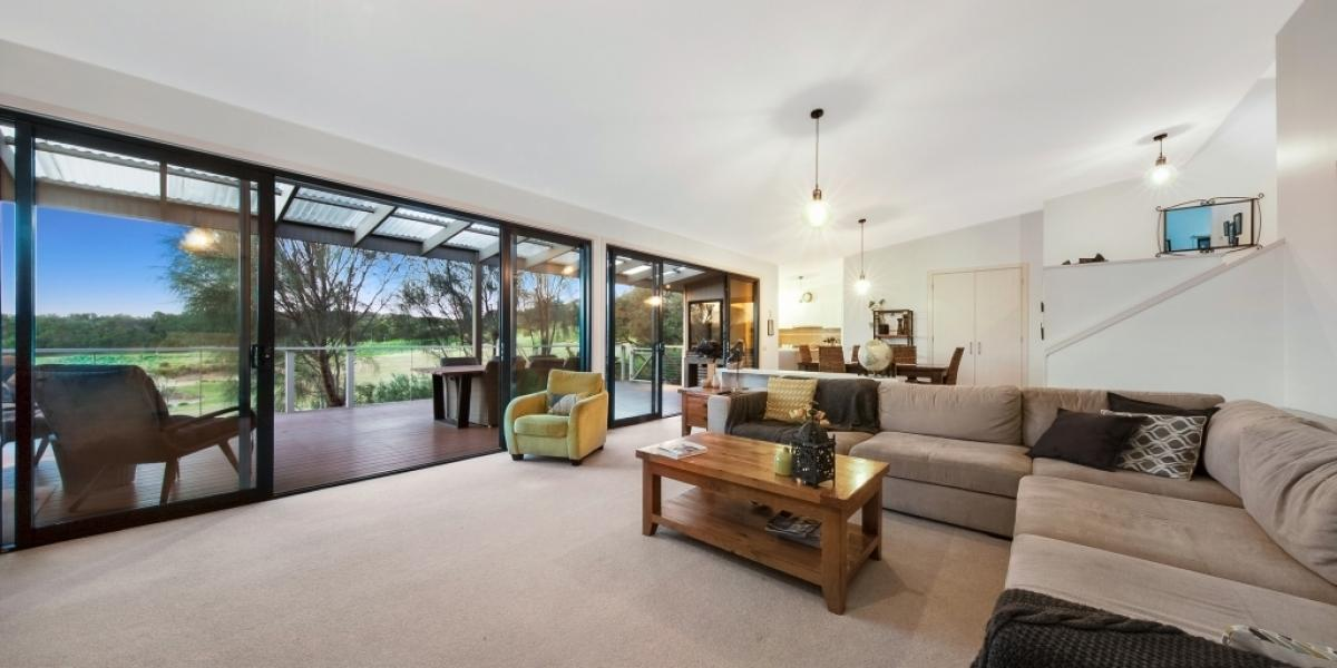 Downsize to this North-Facing Home with Golf Course Frontage
