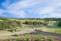 The natural environment and golf course in distance around the Watsons Bend area of Moonah Links, Fingal 3939