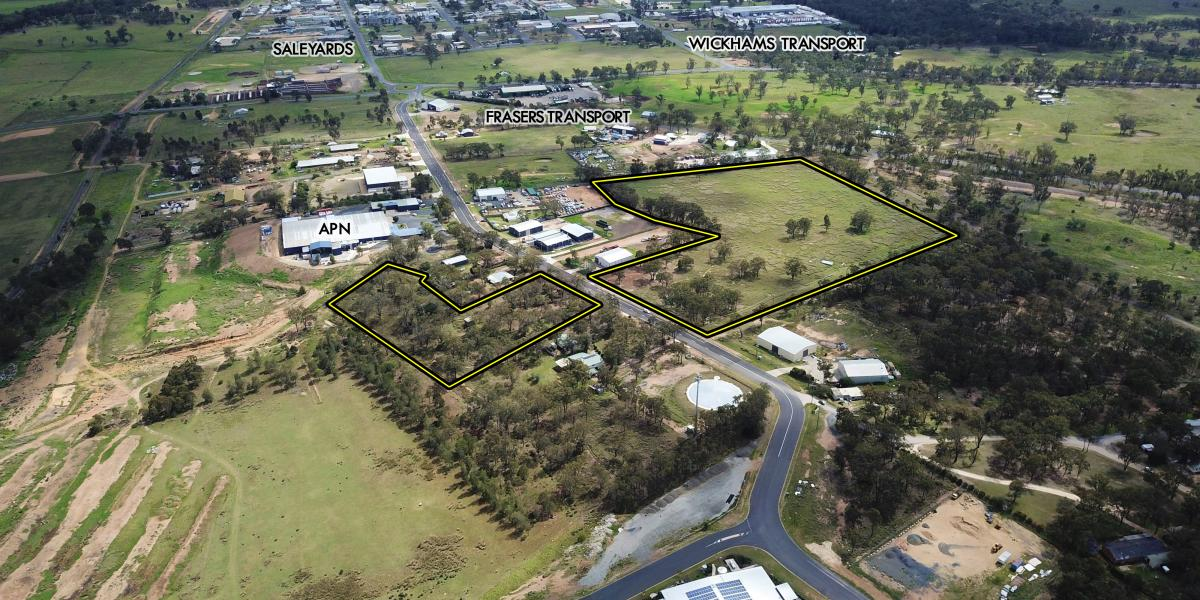 30 Industrial Titles Over 7.52 Hectares