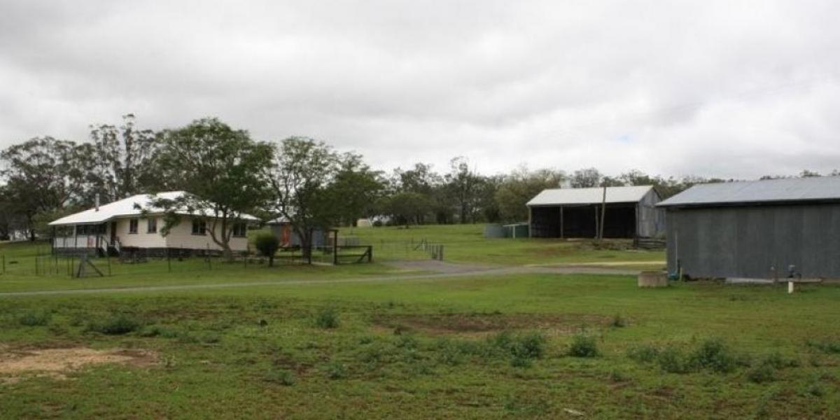 Small Acreage with water and sheds