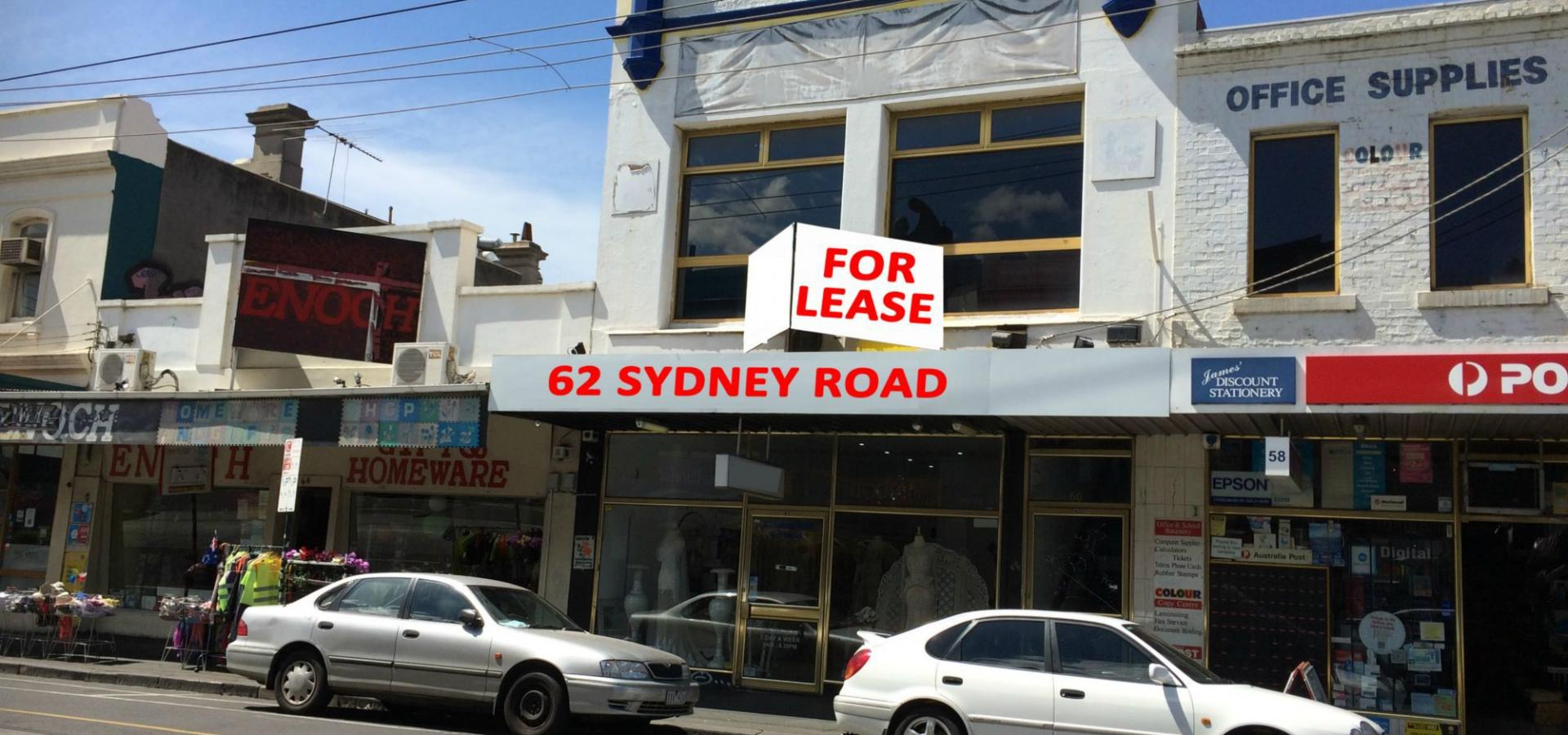 HIGH EXPOSURE PREMISES TO BUSY SYDNEY ROAD