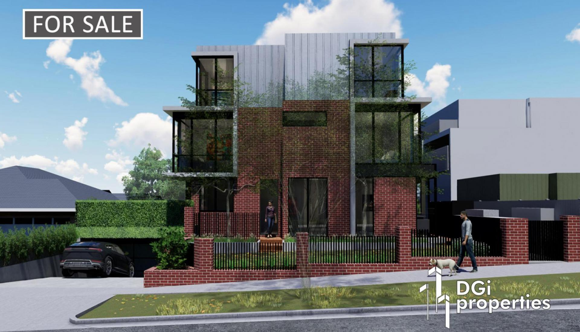 PLANS & PERMIT FOR 7 IVANHOE TOWNHOUSES