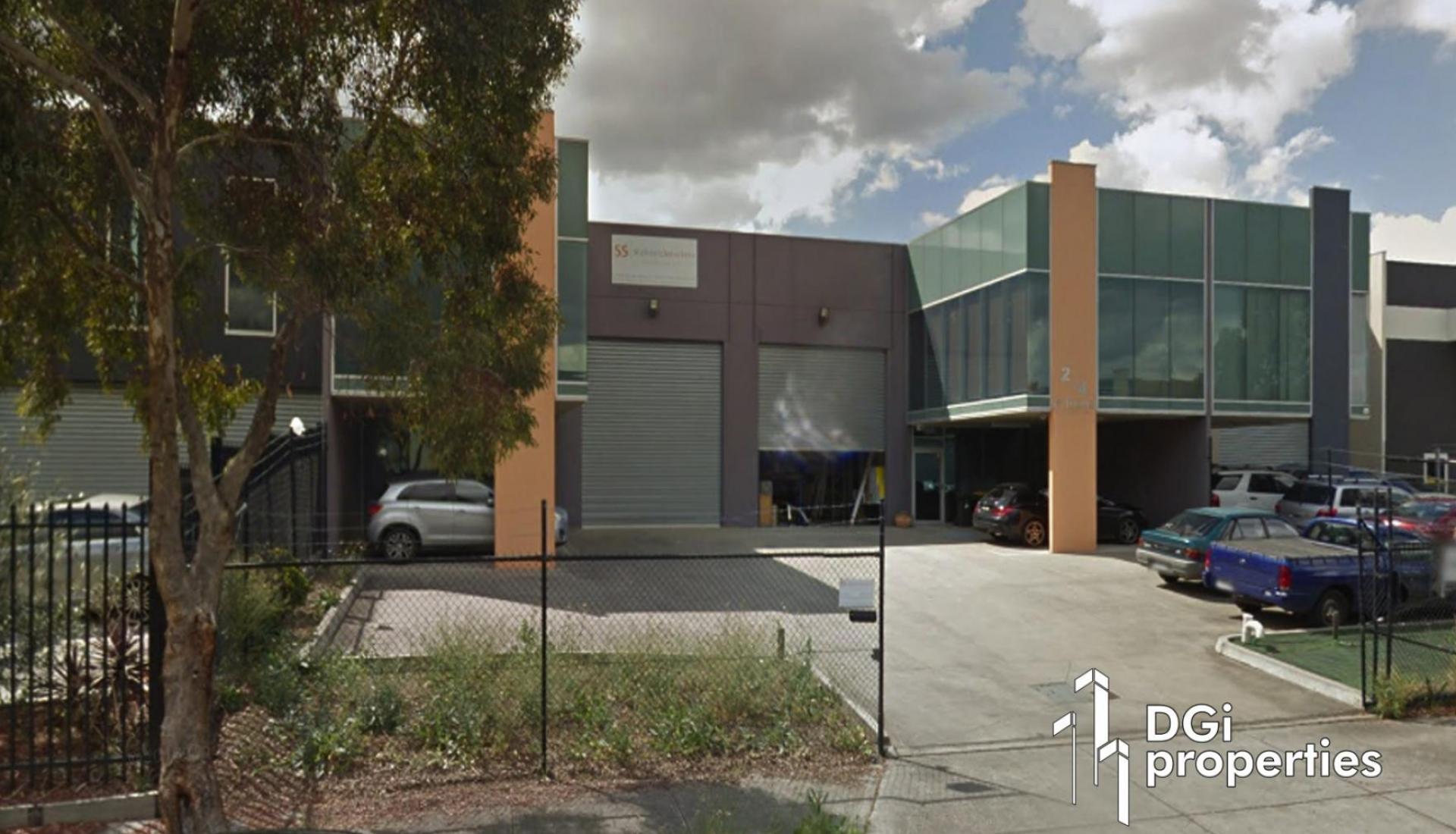 MODERN OFFICE/WAREHOUSE BUILDING