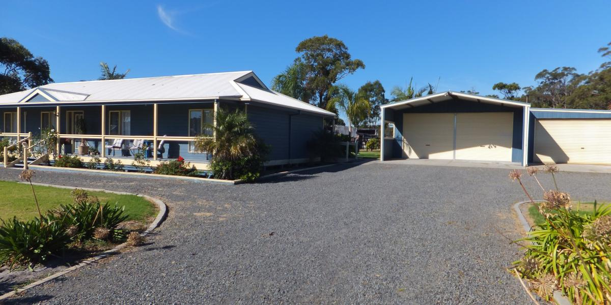 GREAT HOME & SHED IN MARLO ON 1 ACRE