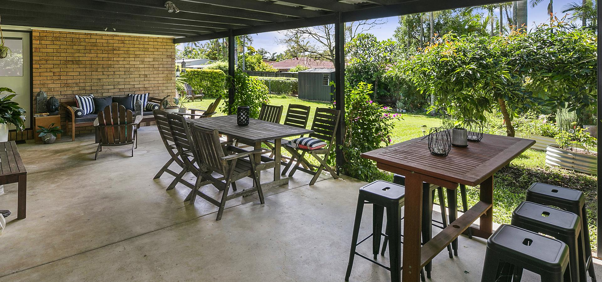 Renovated Family Home - The perfect backyard for the kids to enjoy