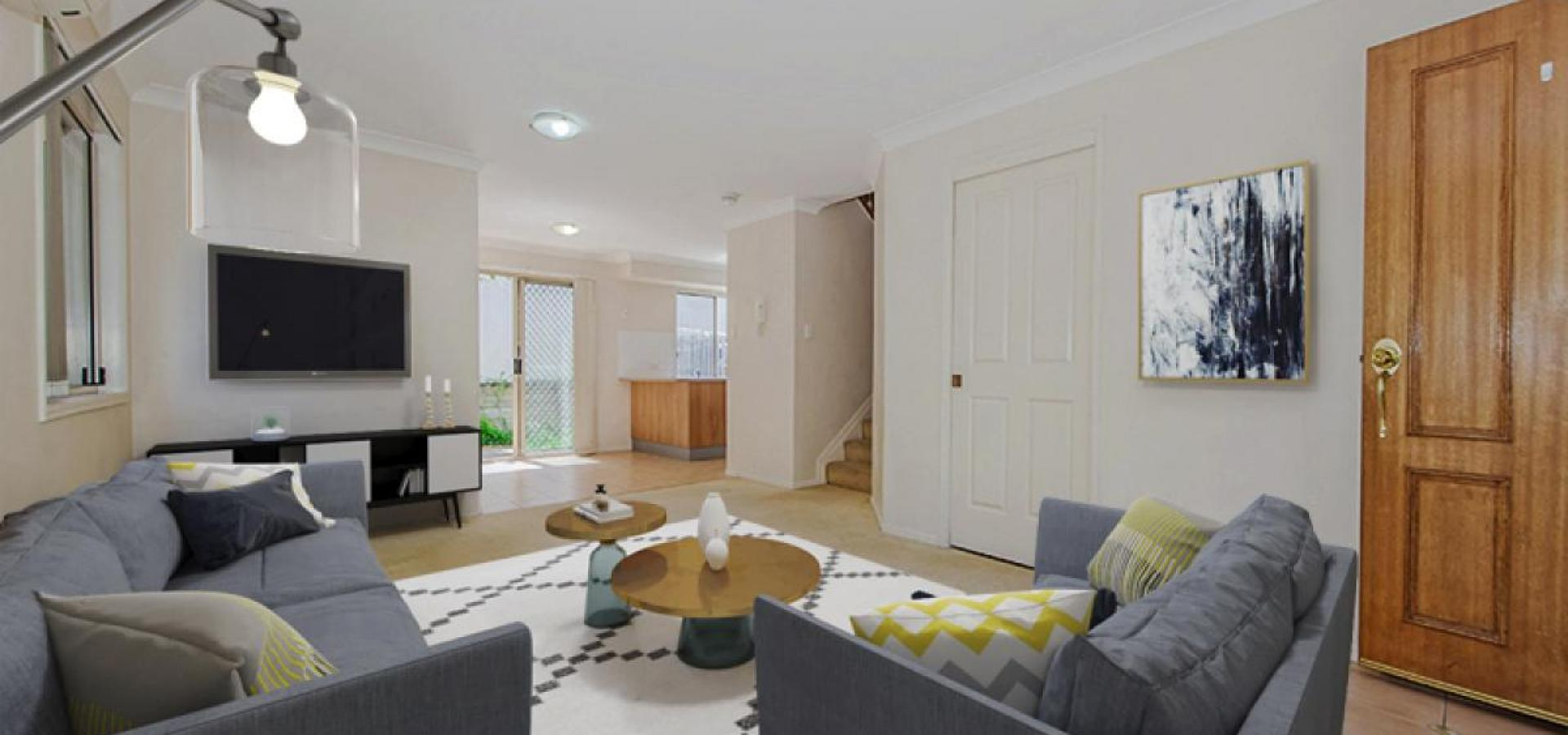 Value packed townhouse - rents for $420 per week