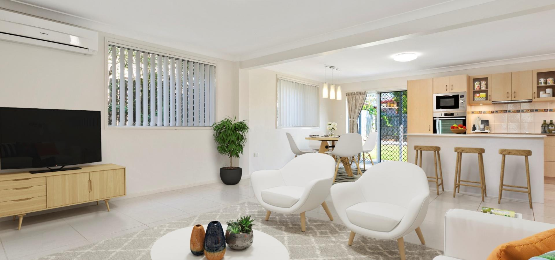 The surprise is on the inside - large renovated family home