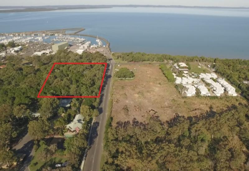 A MAJOR BEACHSIDE 20-LEVEL PRELIMINARY APPROVED SITE IN HERVEY BAY'S MOST EXCITING AND EXCLUSIVE MARINA PRECINCT