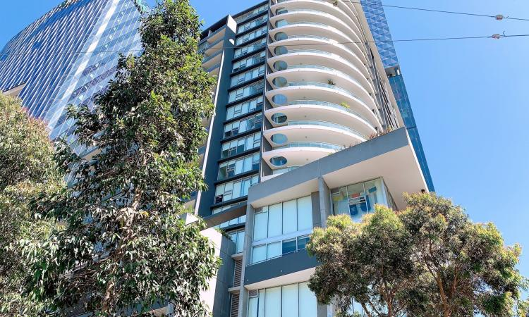 Spacious 1 bedroom with parking at Level 15, 8 McCrae Street, Docklands VIC 3008