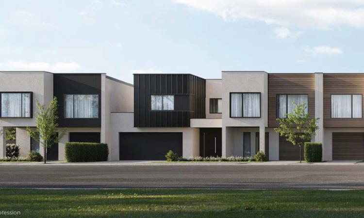 Corner unit, Double Storey 3 bedrooms, 2 part contract, Regency Townhomes
