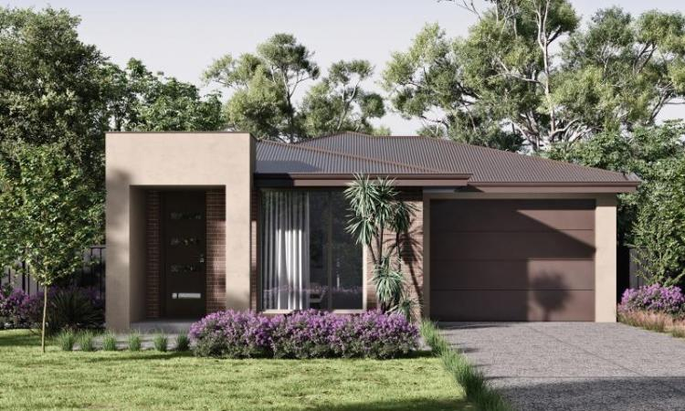 Titled land: 4 bedrooms House & Land Package at Newgate Estate, Tarneit