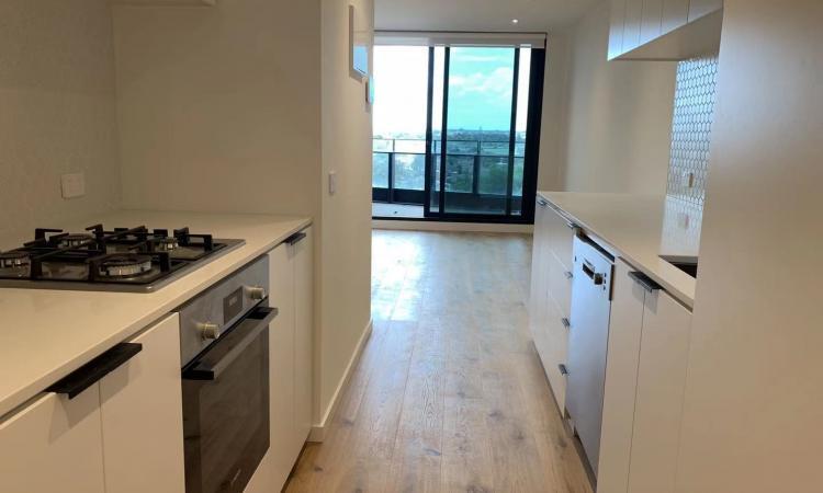Brand New: 2 bedroom 2 bathroom apartment at Footscray