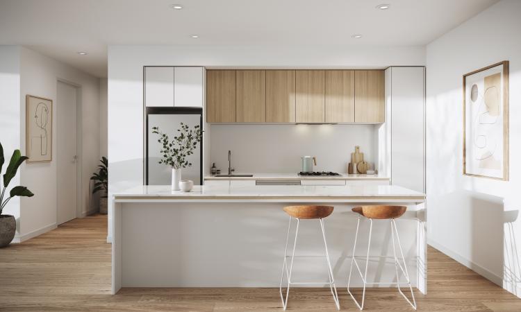New Release: 1, 2, 3 bedroom apartment, Millhouse, Footscray
