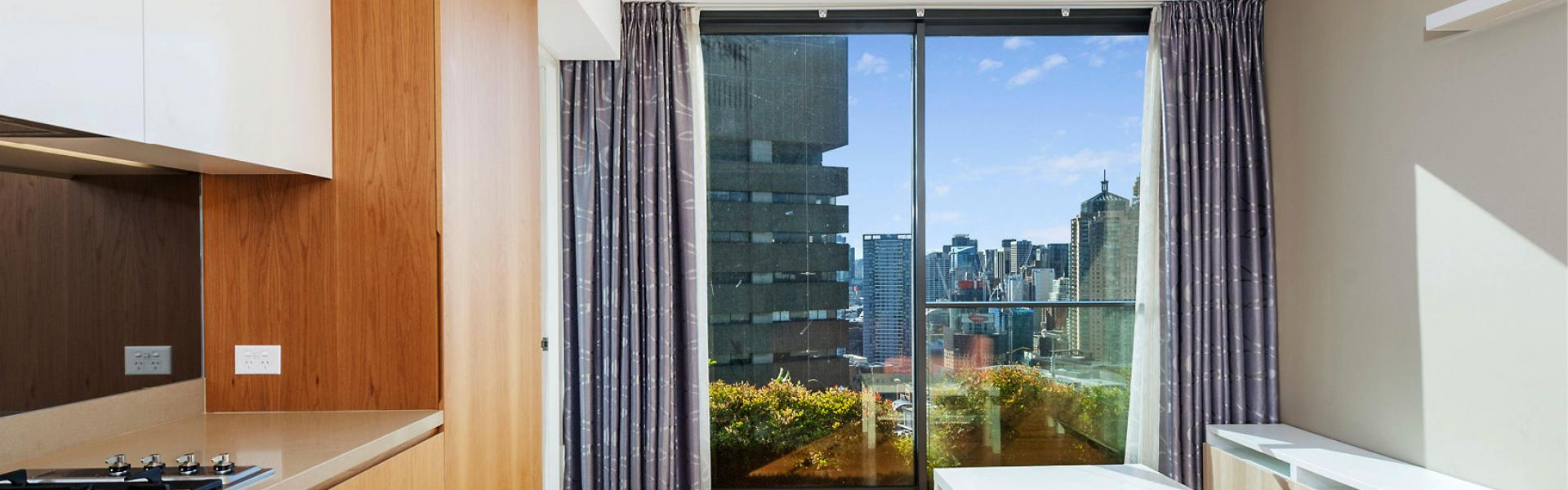 SENSATIONAL NORTH FACING DESIGNER ONE BEDROOM APARTMENT