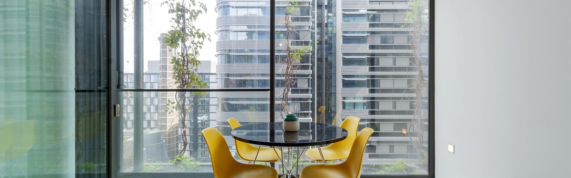 Fully furnished designer property in Central  Park