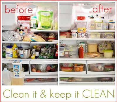 clean out your fridge and feel good