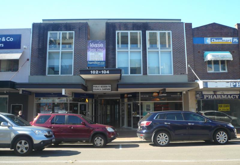 Retail/Office location on Longueville Road