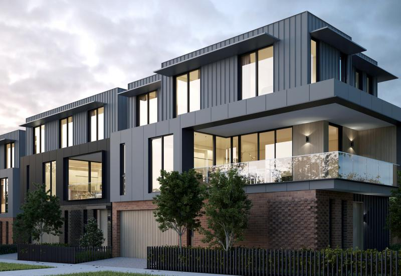 Masterfully designed townhouse in an enviable location