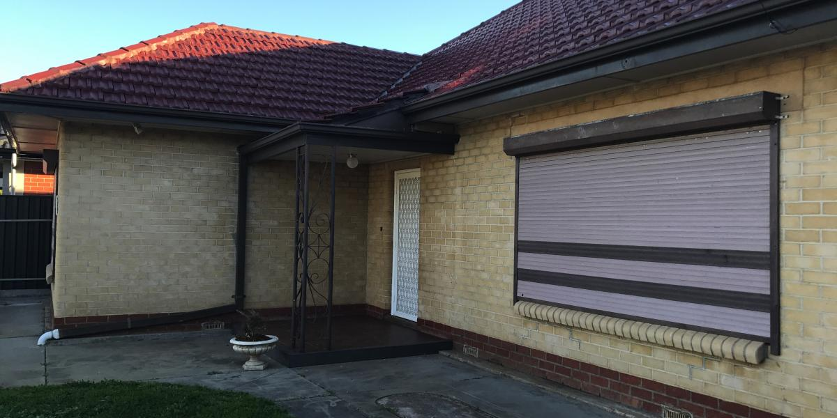 Updated 2 bedroom home complete with roller shutters.