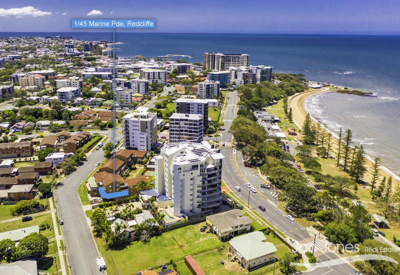 REDCLIFFE – METRES TO SUTTONS BEACH