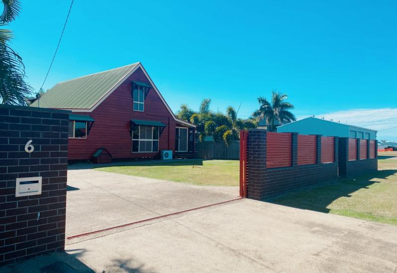 Unique, Colonial style home located within walking distance to the beach