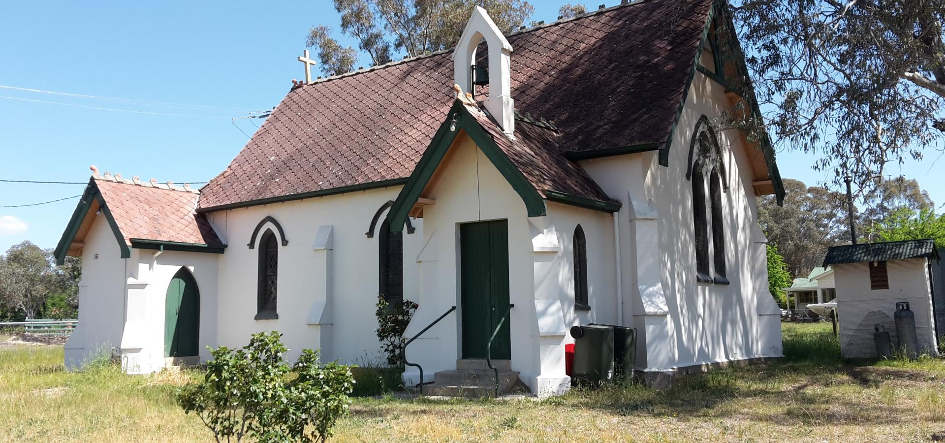 UNIQUE HOME OR GALLERY OPPORTUNITY - St. STEPHENS CHURCH