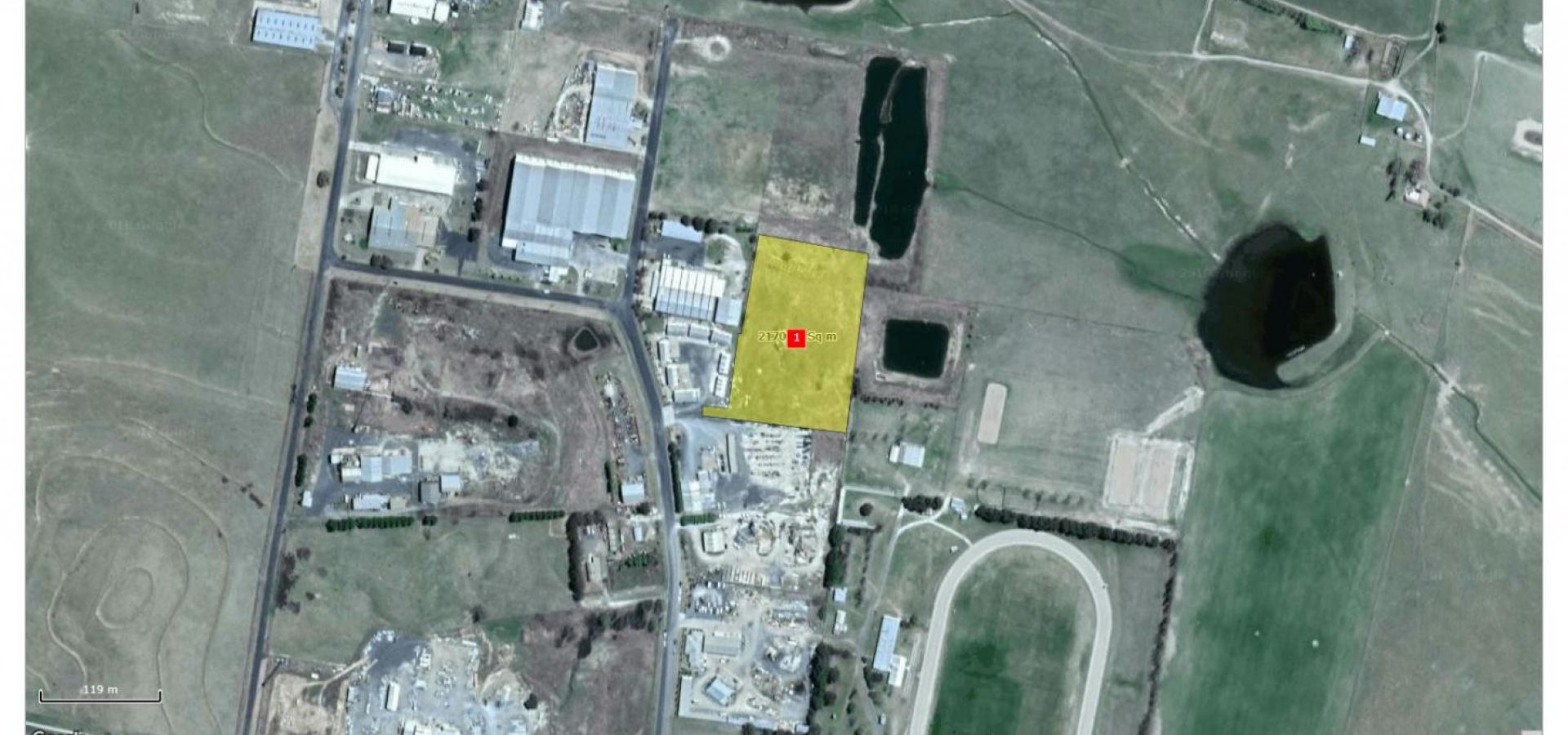 RARE 5 ACRE (2.1ha) INDUSTRIAL SITE ONLY $249000